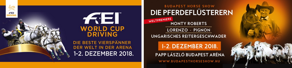 Welcome @ Budapest horse Show 2018