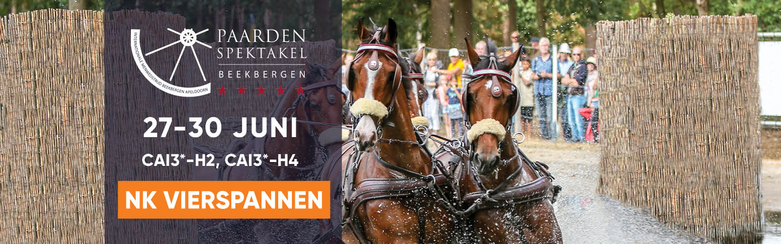 Welcome @ CAI Beekbergen NED 2019